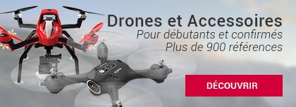 Drones et accessoires