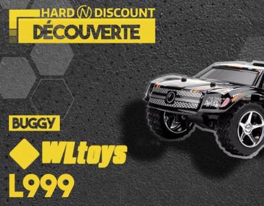 Mini Buggy WLToys L999 Monster Truck RC avec tremplin