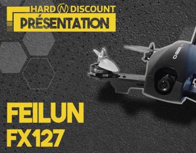 Drone Racer FPV Chaser Feilun FX127 – Vol en immersion et compétition