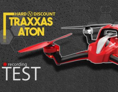Traxxas Aton en mode drone de course